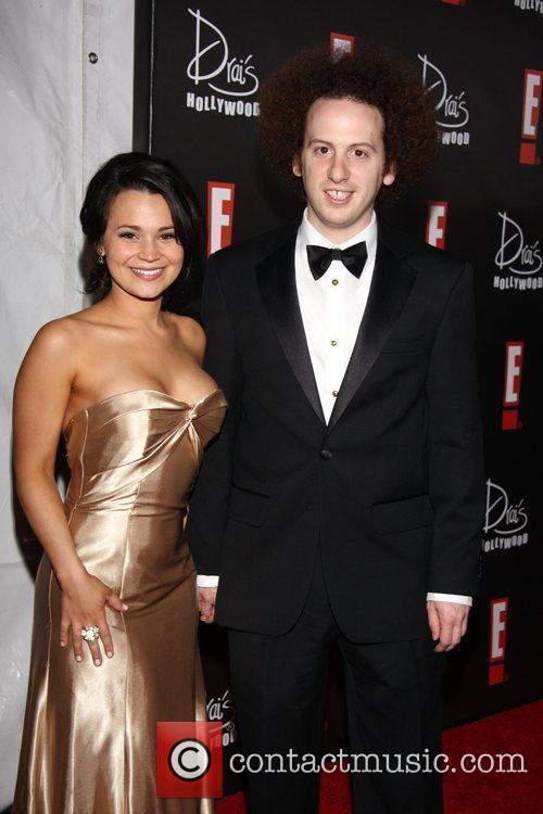 Josh Sussman (R) and guest E! Oscar Viewing...