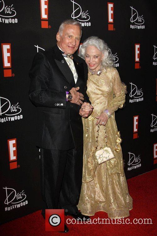 Buzz Aldrin Aldrin and wife Lois Driggs Cannon...