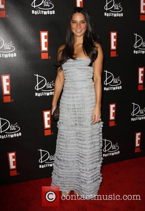 Olivia Munn E! Oscar Viewing and After Party...