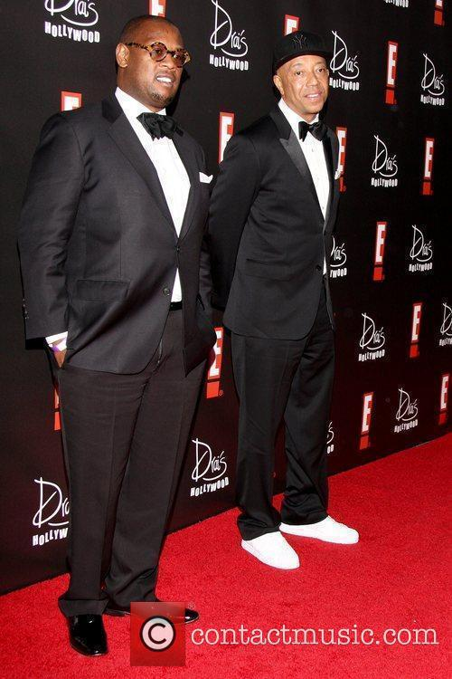 Guest and Russell Simmons E! Oscar Viewing and...