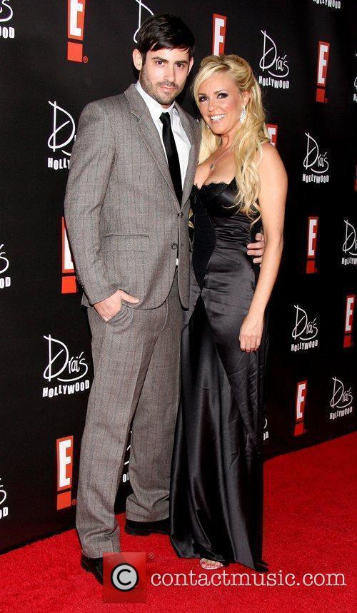 Nick Carpenter and Bridget Marquardt E! Oscar Viewing...