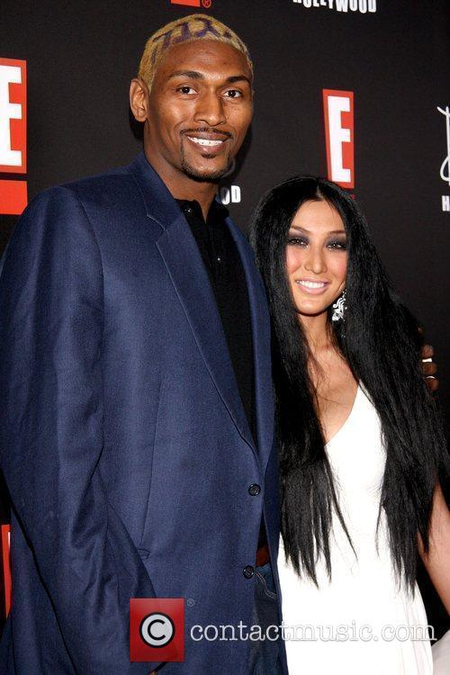Ron Artest and Guest E! Oscar Viewing and...