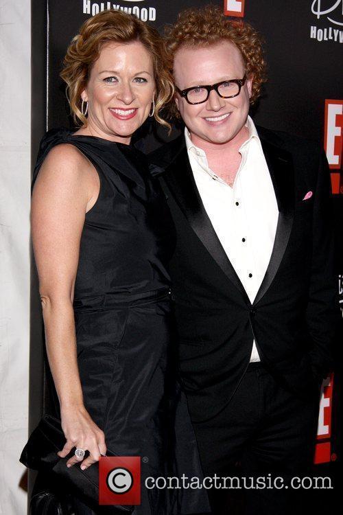 Sarah Colonna and Brad Wollack E! Oscar Viewing...
