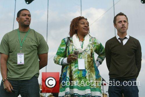 Laz Alonso, C. C. H. Pounder and Giovanni...