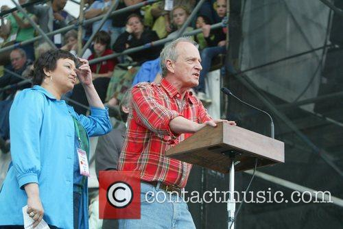 Lisa Jackson and Denis Hayes The Climate Rally...