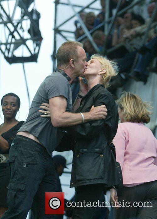 Sting aka Gordon Sumner and Trudie Styler The...