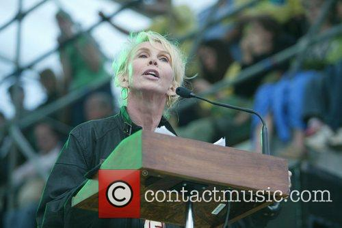 Trudie Styler The Climate Rally Earth Day 2010...