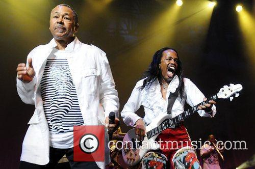 HOLLYWOOD, FL - JUNE 27: Philip Bailey and...