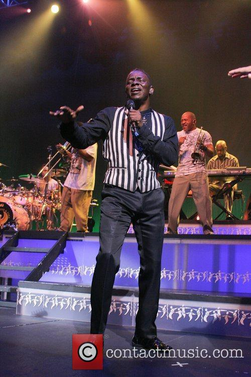 Philip Bailey of Earth, Wind and Fire performs...