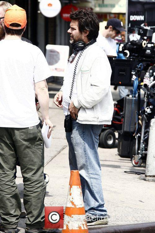 Director Michael Knowles on the film set for...