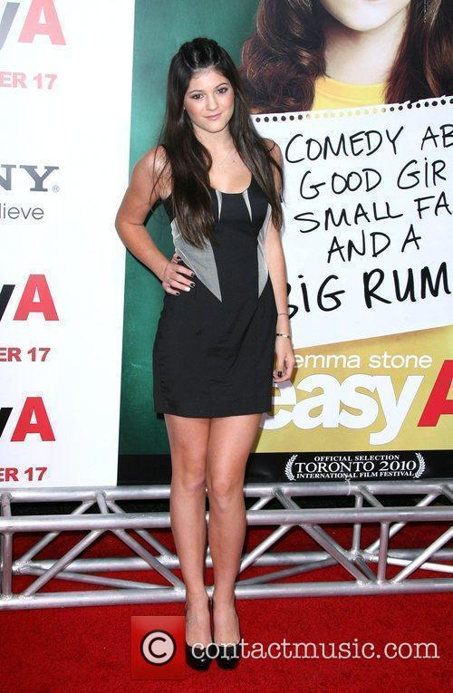 Kylie Jenner Los Angeles Premiere of 'Easy A'...