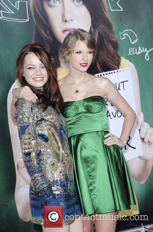 Emma Stone and Taylor Swift 5