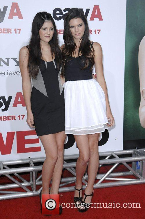 Kendrall Jenner and Kylie Jenner Los Angeles Premiere...