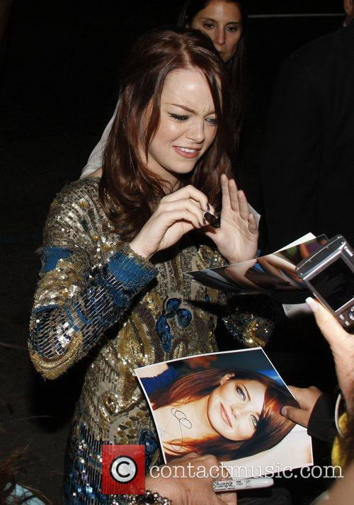 Los Angeles Premiere of 'Easy A' held at...