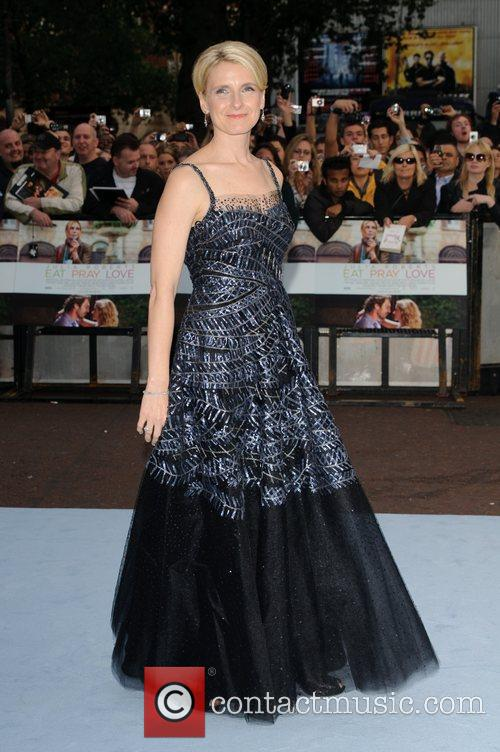 Elizabeth Gilbert 'Eat, Pray, Love' UK film premiere...