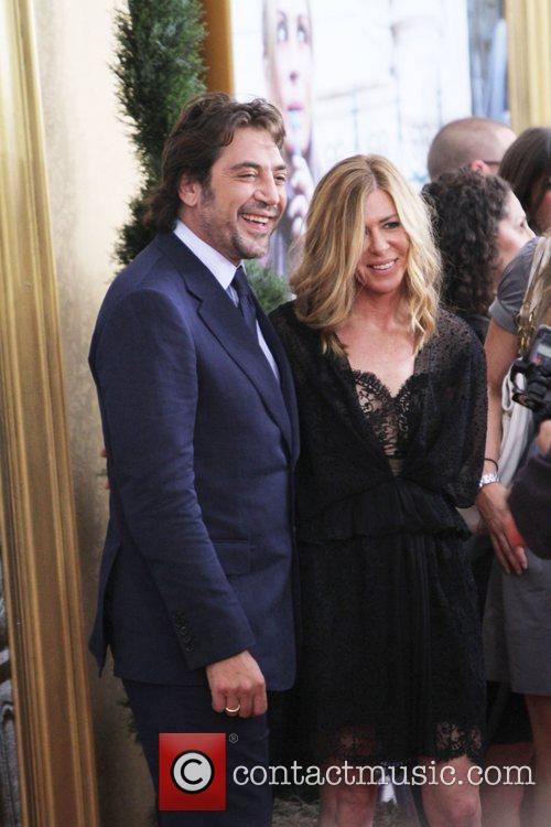 Javier Bardem and Film Producer Dede Gardner 2