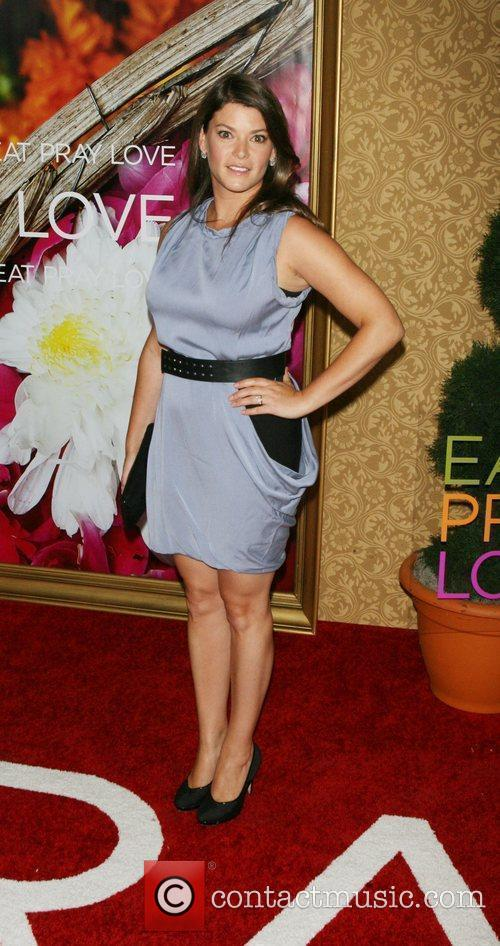 Gail Simmons New York premiere of 'Eat Pray...