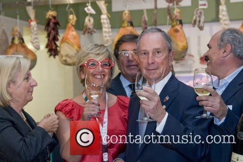 Guest and Mayor Michael Bloomberg Grand opening of...
