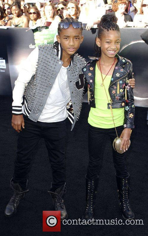 Jaden Smith and Willow Smith 2010 Los Angeles...