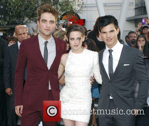 Robert Pattinson, Kristen Stewart and Taylor Lautner...