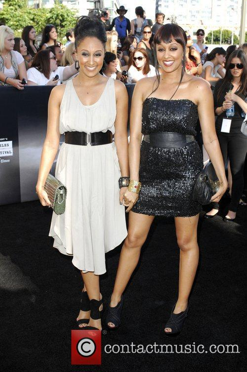 Tamera Mowry and Tia Mowry 9
