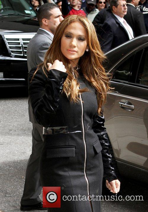 Jennifer Lopez and David Letterman 12
