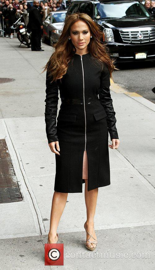 Jennifer Lopez and David Letterman 14