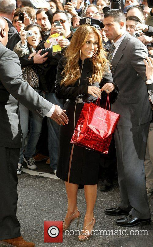 Jennifer Lopez and David Letterman 1