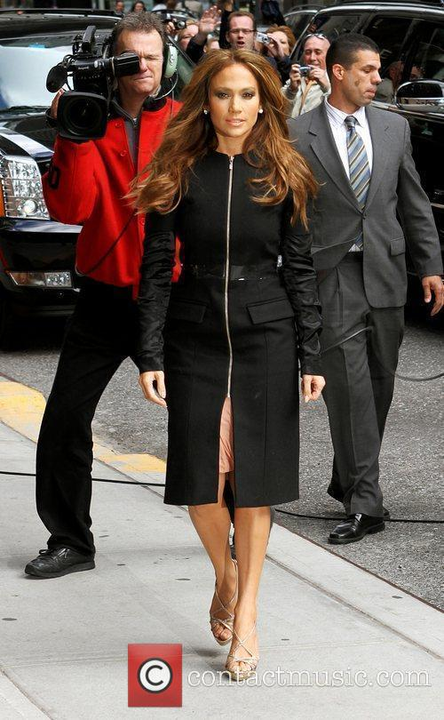 Jennifer Lopez and David Letterman 5