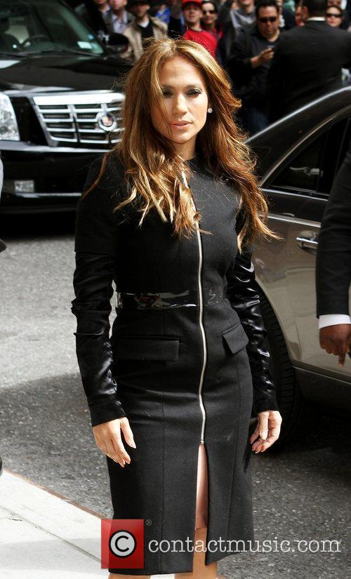 Jennifer Lopez and David Letterman 13