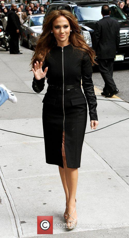 Jennifer Lopez and David Letterman 15