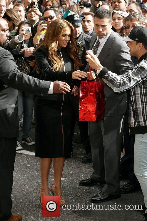 Jennifer Lopez and David Letterman 10