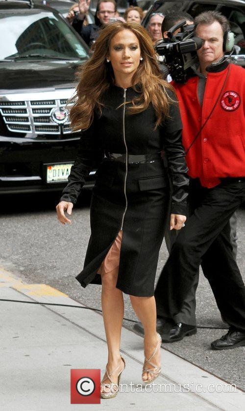 Jennifer Lopez and David Letterman 9