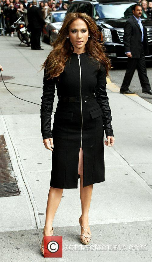 Jennifer Lopez and David Letterman 11