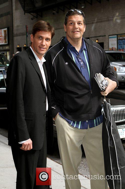 Mike Golic and David Letterman 1