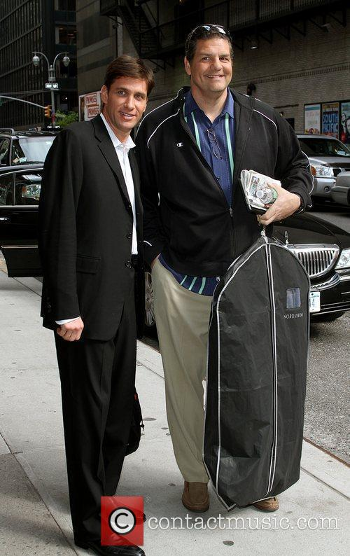 Mike Golic and David Letterman 3