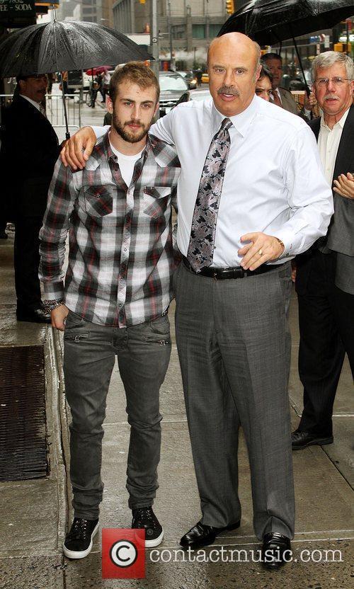 Phil Mcgraw, David Letterman and Jordan 5