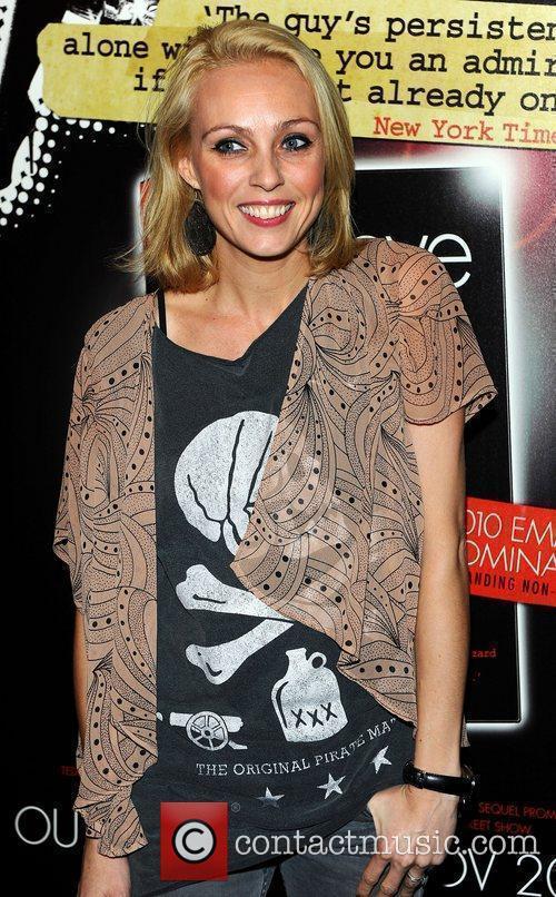 Camilla Dallerup at Eddie Izzard's DVD Premiere at...