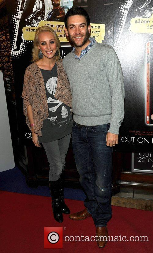Camilla Dallerup and Kevin Sacre at Eddie Izzard's...