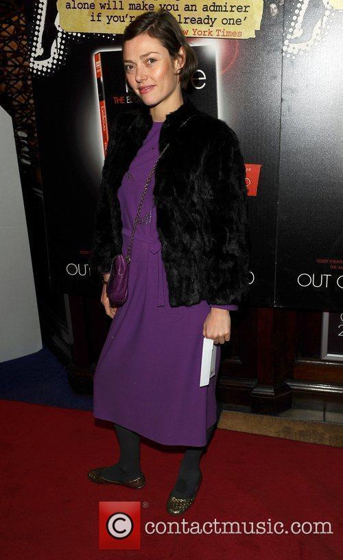 Camilla Rutherford at Eddie Izzard's DVD Premiere at...