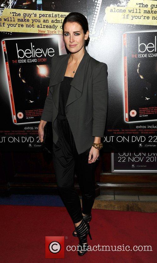 Kirsty Gallagher at Eddie Izzard's DVD Premiere at...