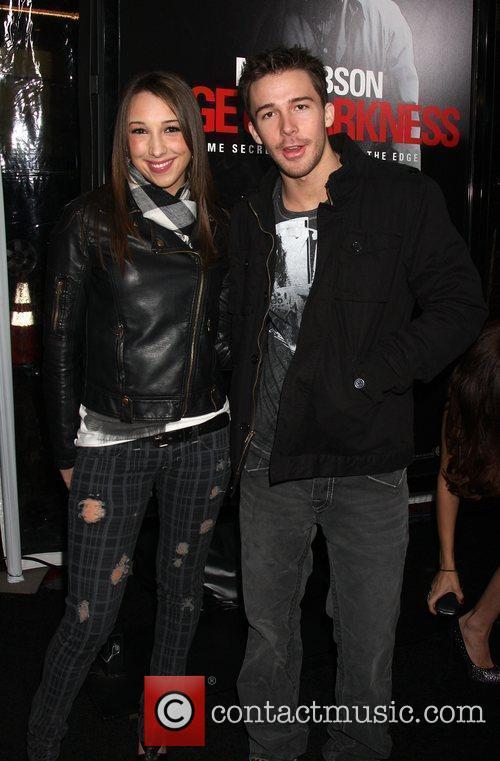 Ashley Edner & Bobby Edner Los Angeles premiere...
