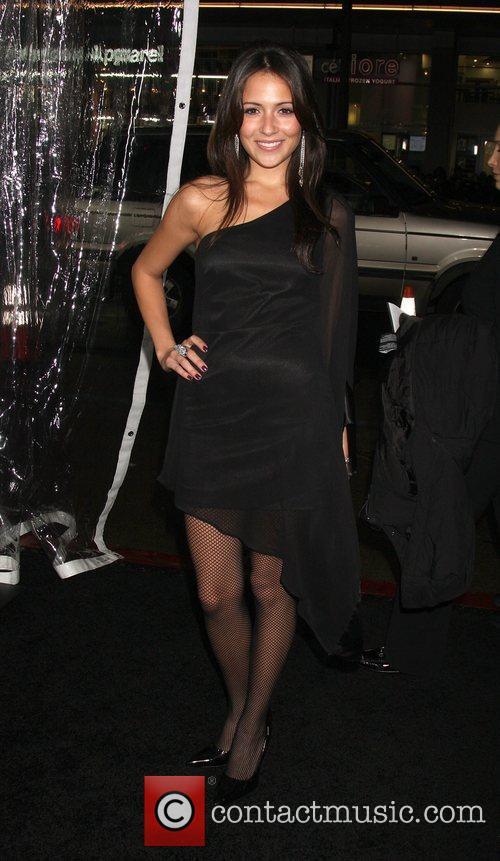 Italia Ricci Los Angeles premiere of 'The Edge...