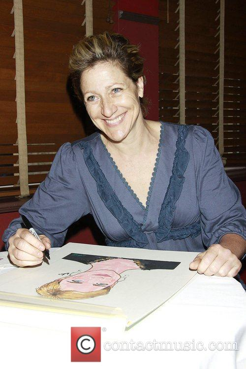 Edie Falco receives iconic Sardi's wall caricature at...