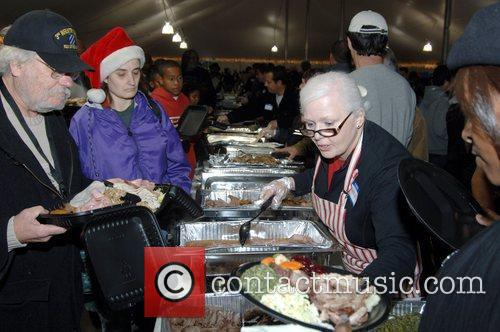 Atmosphere 17th Annual Veterans Holiday Celebration held at...