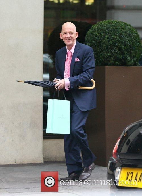 Ex-west Ham Chairman Eggert Magnusson Arriving At The May Fair Hotel 5