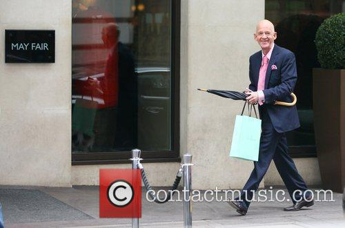 Ex-west Ham Chairman Eggert Magnusson Arriving At The May Fair Hotel 3