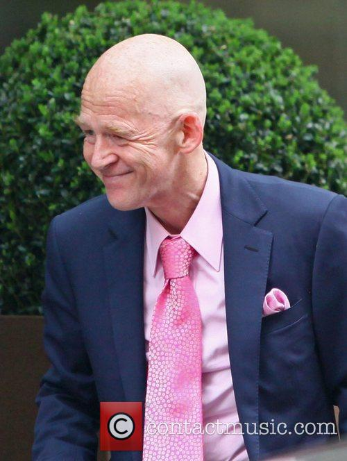 Ex-west Ham Chairman Eggert Magnusson Arriving At The May Fair Hotel 2
