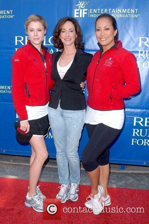 Julie Bowen, Lilly Tartikoff and Carrie Ann Inaba...