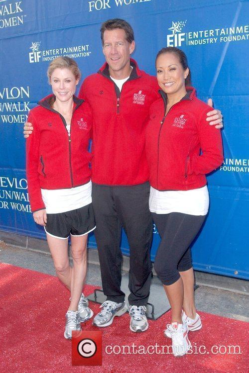 Julie Bowen, James Denton and Carrie Ann Inaba...